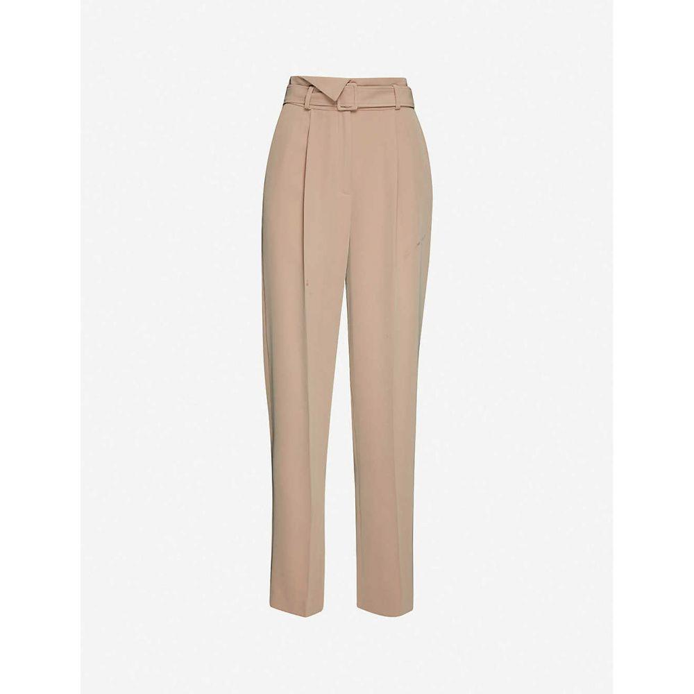 クローディ ピエルロ CLAUDIE PIERLOT レディース ボトムス・パンツ 【Passy wide slim-fit woven trousers】HAVANE
