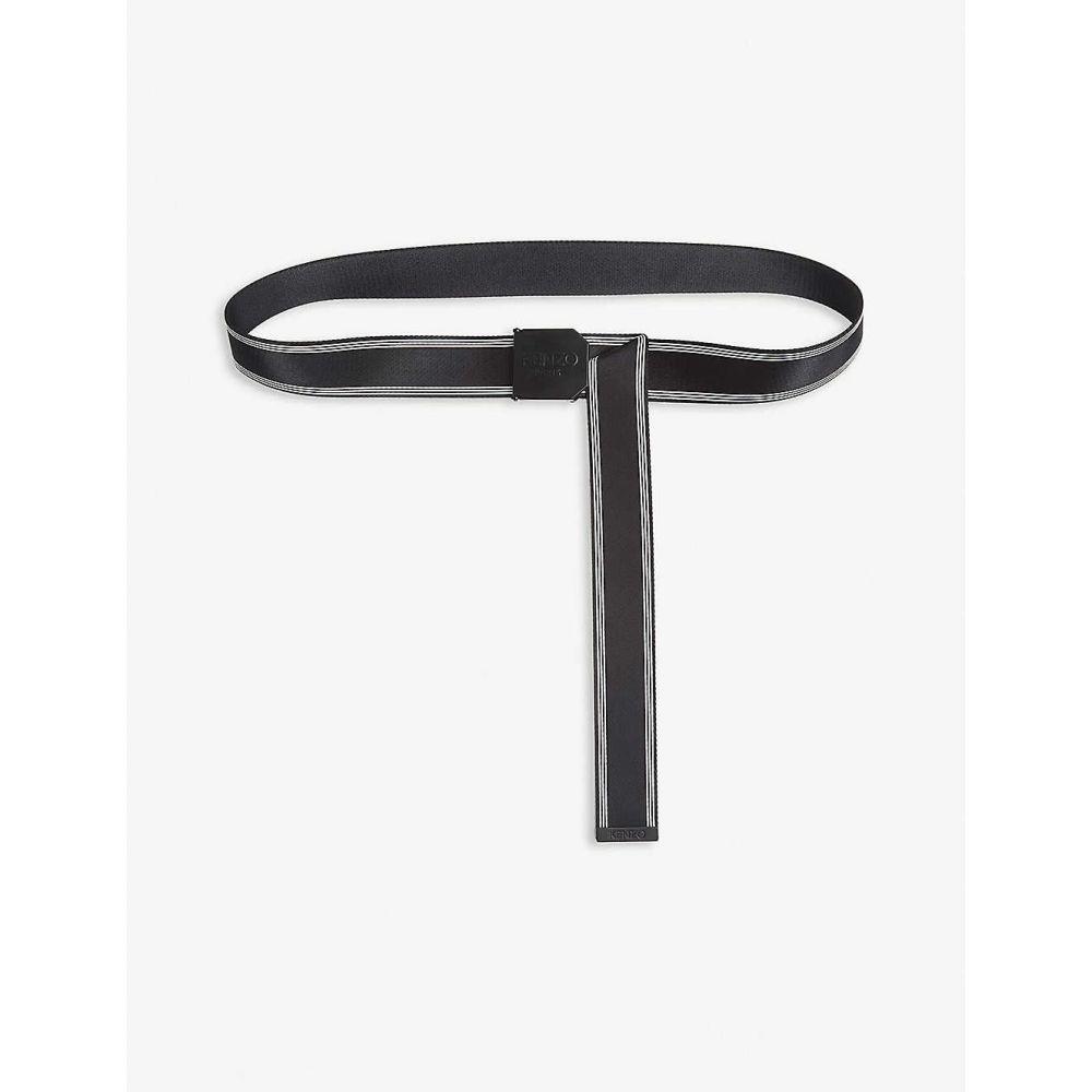 ケンゾー KENZO メンズ ベルト 【Sports webbing belt】BLACK