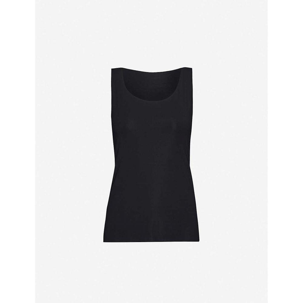 ウォルフォード WOLFORD レディース タンクトップ トップス【Aurora Pure stretch-jersey vest top】Black