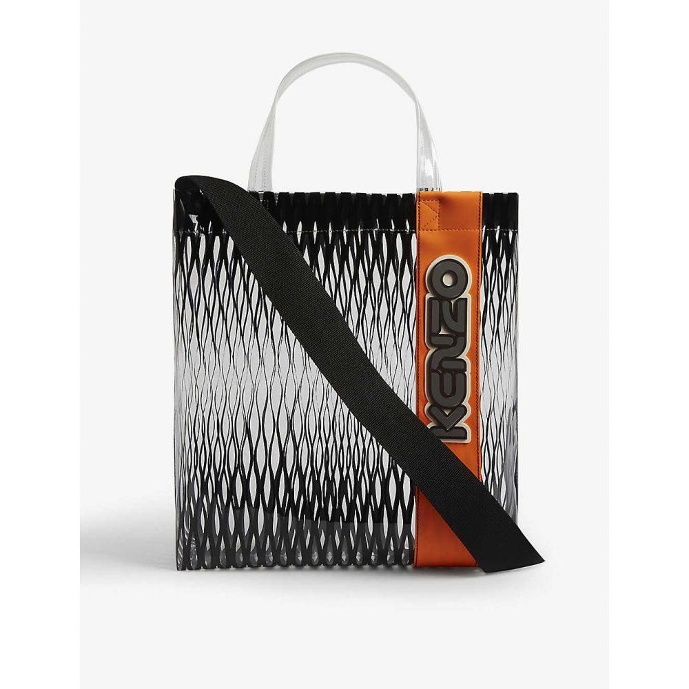 ケンゾー KENZO メンズ トートバッグ バッグ【Mesh print logo shopper bag】BLACK