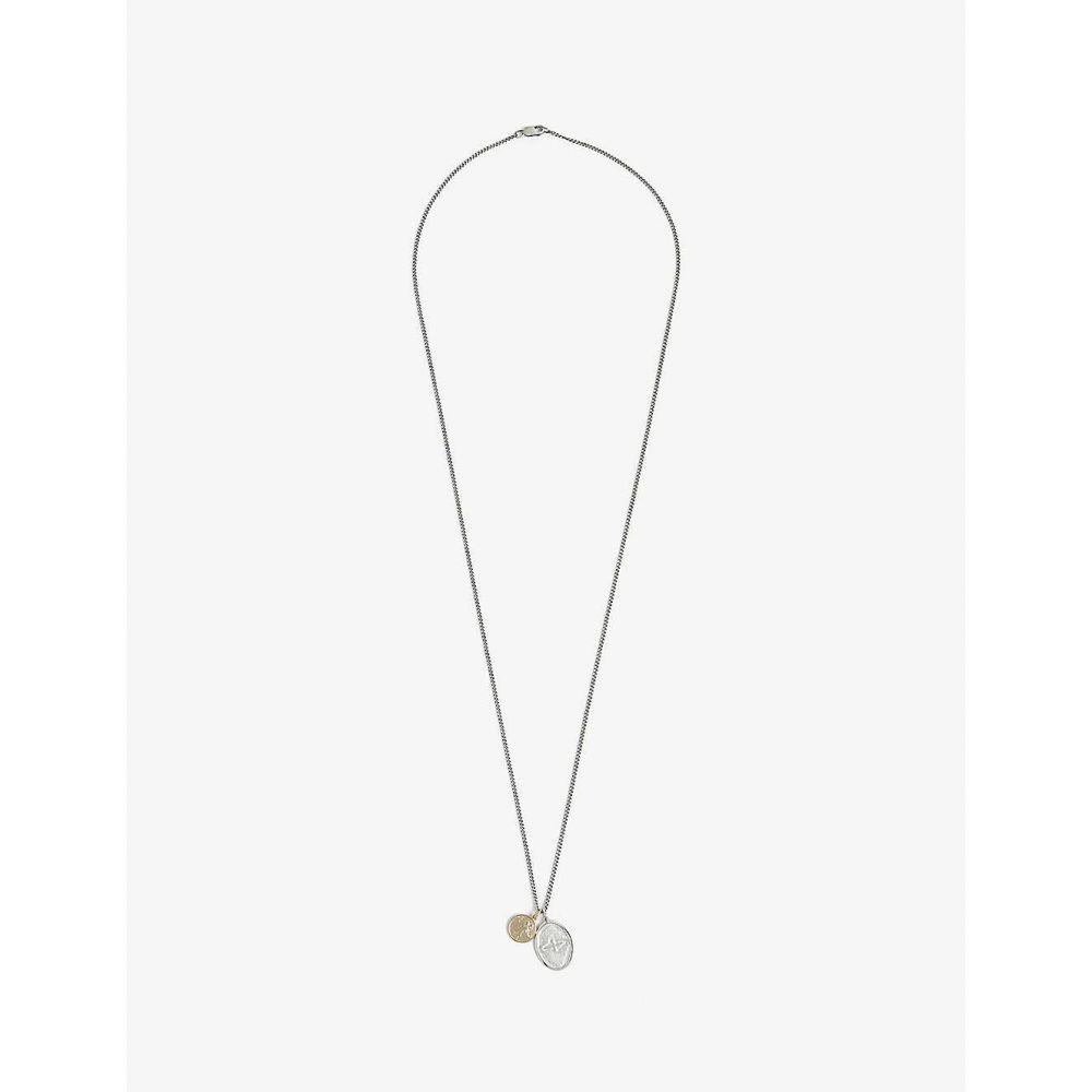 ミアンサイ MIANSAI メンズ ネックレス チャーム ジュエリー・アクセサリー【Dove sterling silver charm necklace】Silver Gold