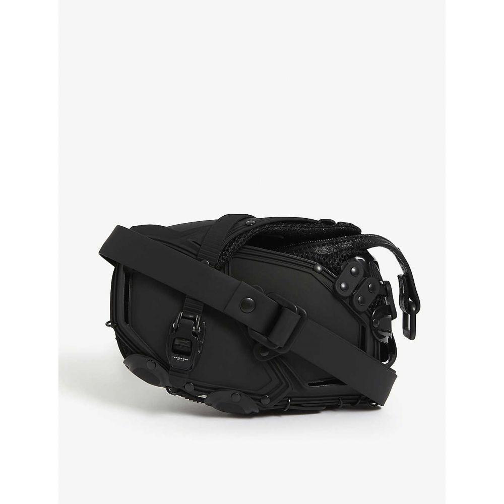 インナラーム INNERRAUM メンズ メッセンジャーバッグ バッグ【Armoured cross-body bag】BLACK BLACK