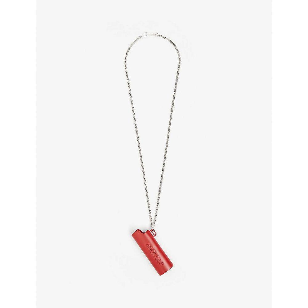 アンブッシュ AMBUSH メンズ ネックレス ジュエリー・アクセサリー【Lighter case necklace】Red