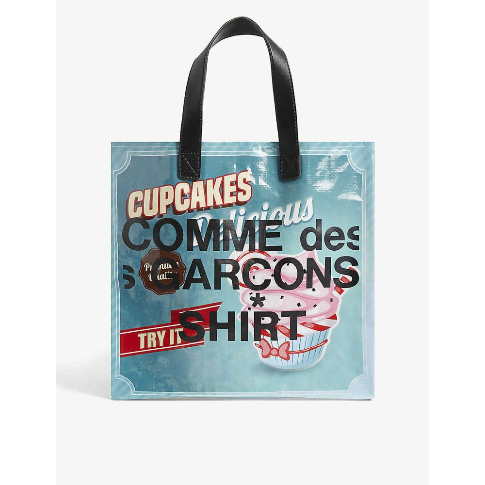コム デ ギャルソン COMME DES GARCONS SHIRT メンズ トートバッグ バッグ【Donut tote bag】Print B