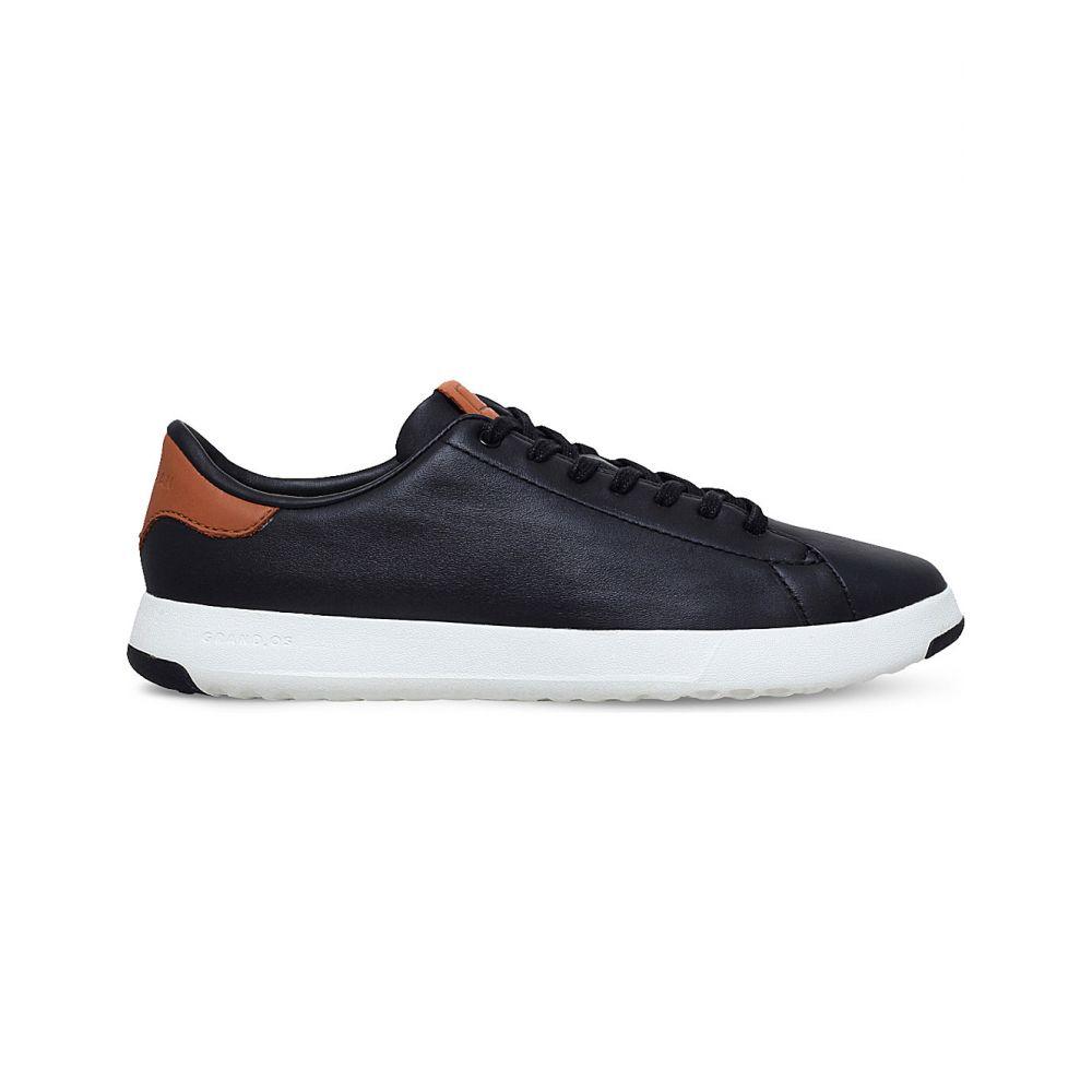 コールハーン COLE HAAN メンズ テニス シューズ・靴【GrandPro Tennis leather trainers】BLK/BROWN