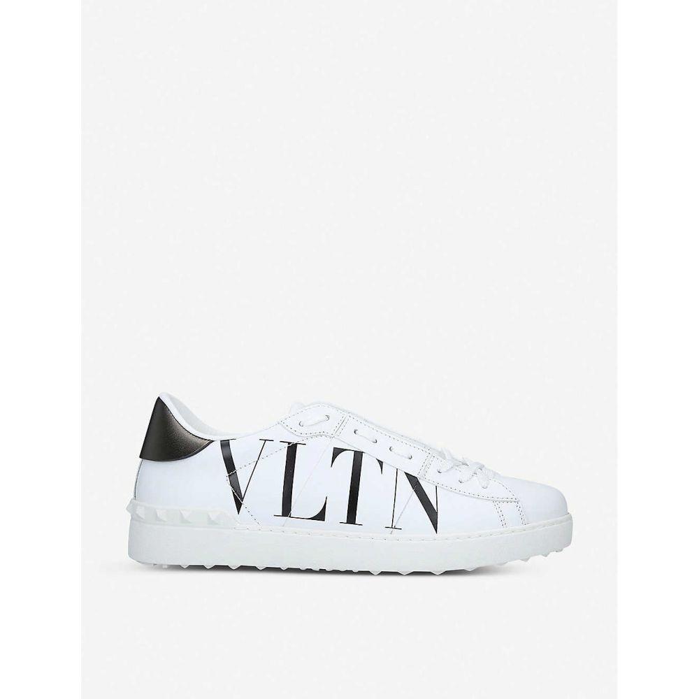 ヴァレンティノ VALENTINO メンズ スニーカー シューズ・靴【VLTN Rockstud leather trainers】White