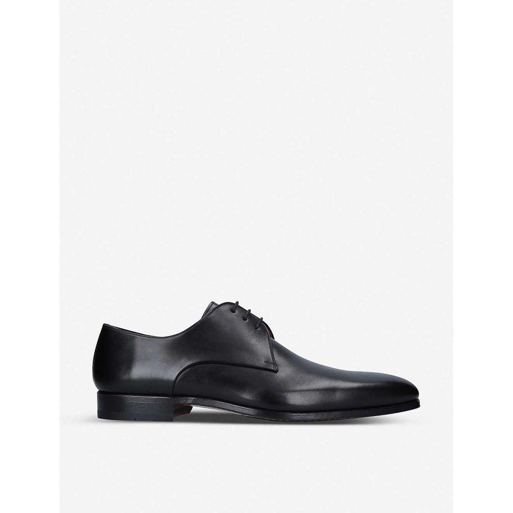 マグナーニ MAGNANNI メンズ 革靴・ビジネスシューズ ダービーシューズ シューズ・靴【Derby leather shoes】BLACK
