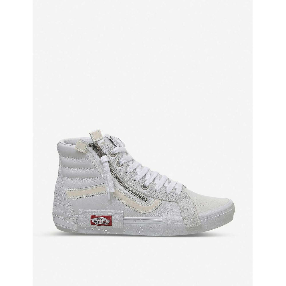 ヴァンズ VANS メンズ スニーカー シューズ・靴【Sk8 suede and leather high-top trainers】BLANC DE BLANC TRUE WHIT