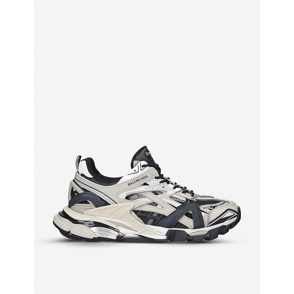 バレンシアガ BALENCIAGA メンズ スニーカー シューズ・靴【Track 2.0 woven nylon and mesh trainers】BEIGE COMB
