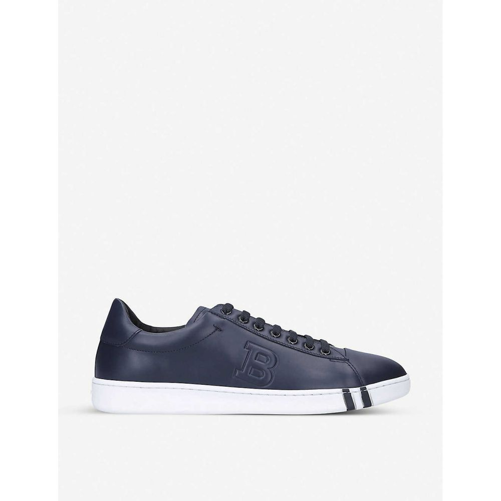 バリー BALLY メンズ テニス シューズ・靴【Asher leather tennis trainers】WHITE