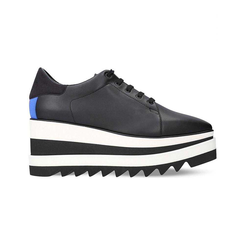 ステラ マッカートニー STELLA MCCARTNEY レディース スニーカー シューズ・靴【Elyse platform faux-leather trainers】BLACK
