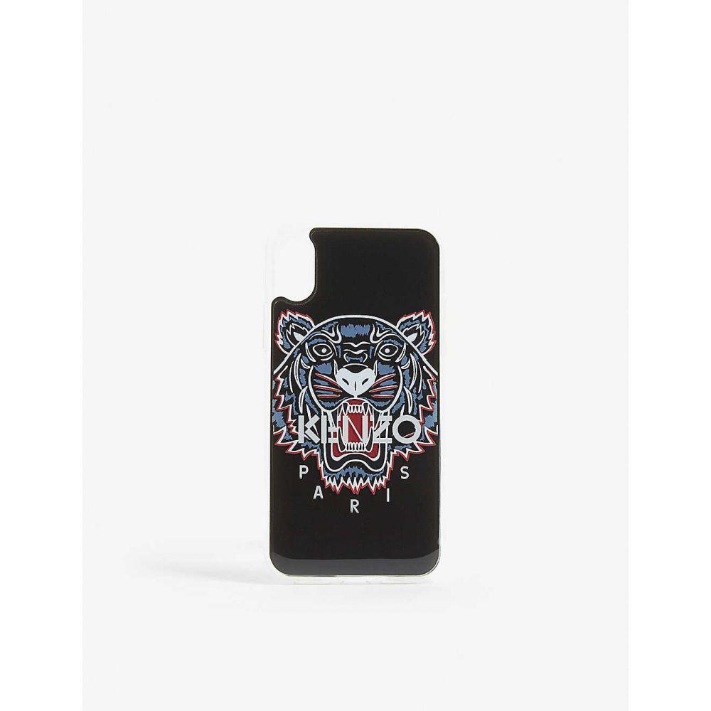 ケンゾー KENZO メンズ スマホケース 【Tiger motif phone case】BLACK