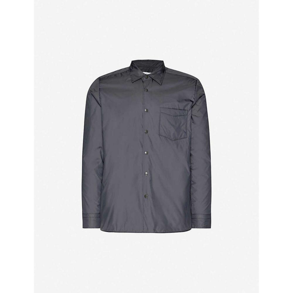 リース REISS メンズ ジャケット シェルジャケット アウター【Pudra wadded shell jacket】NAVY