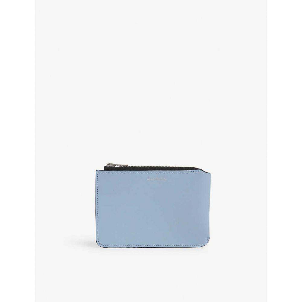 アクネ ストゥディオズ ACNE STUDIOS メンズ ビジネスバッグ・ブリーフケース バッグ【Malachite document holder】Light Blue Black