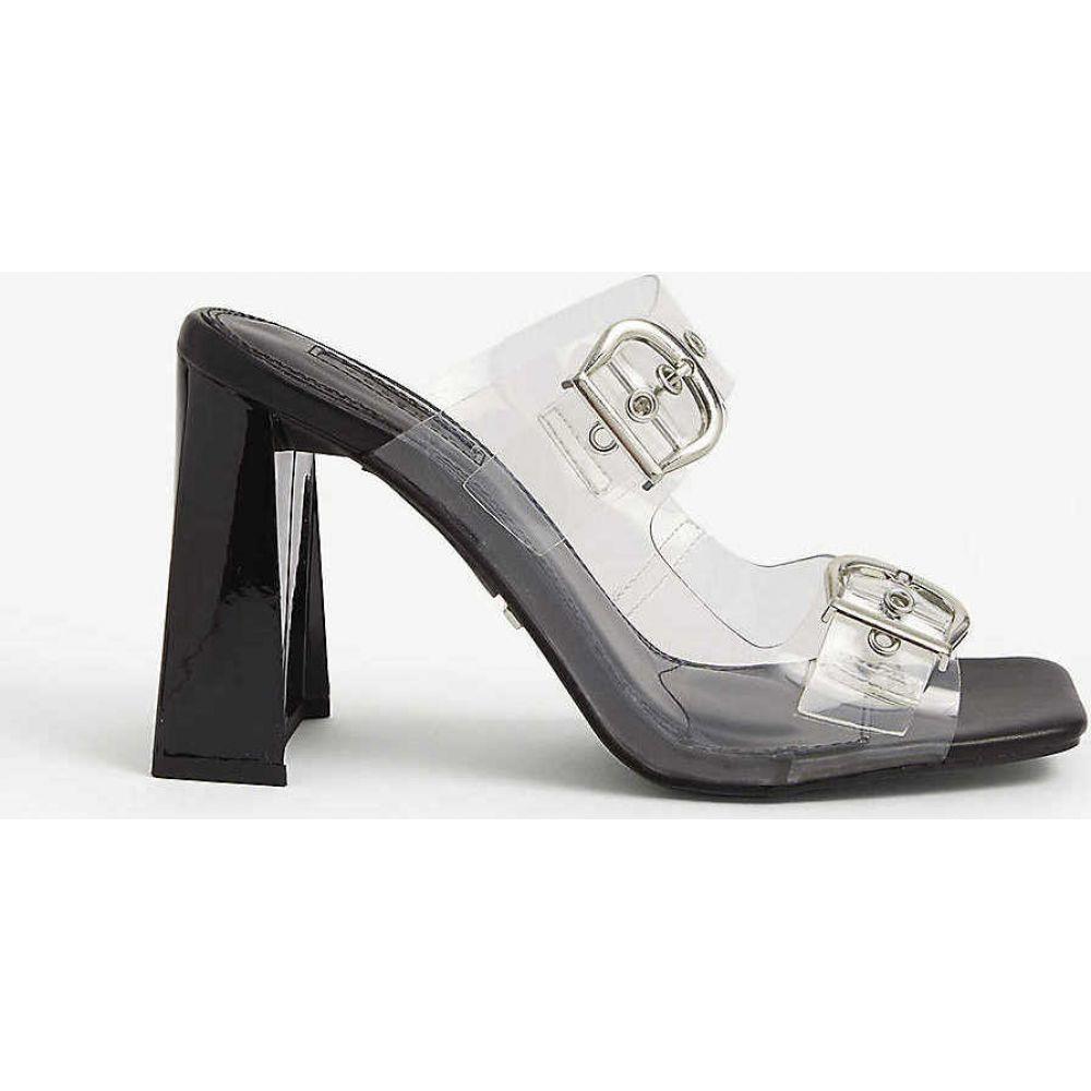 トップショップ TOPSHOP レディース サンダル・ミュール シューズ・靴【Regine buckle mules】BLACK