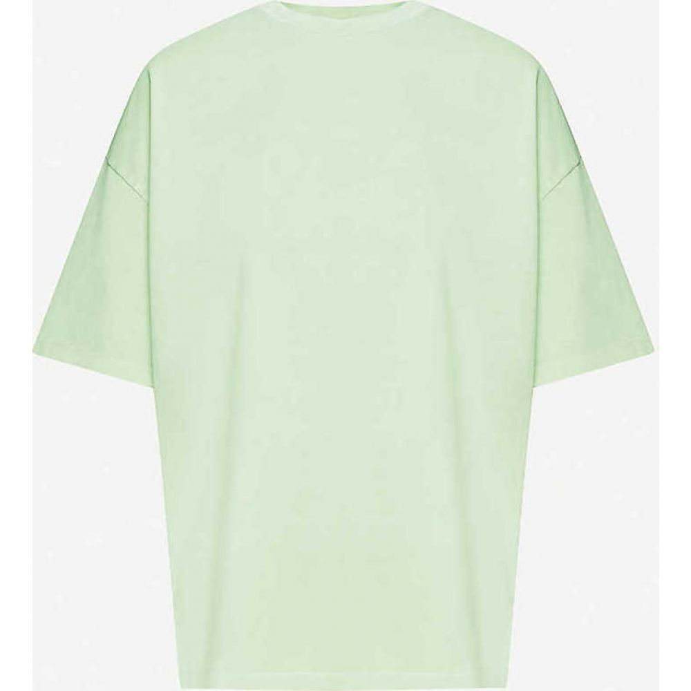 ナイティーパーセント NINETY PERCENT レディース Tシャツ トップス【Oversized organic cotton-jersey T-shirt】Sage