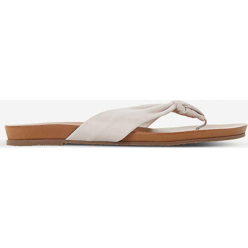 デューン DUNE レディース サンダル・ミュール シューズ・靴【Lyrikal knotted leather sandals】IVORY-LEATHER