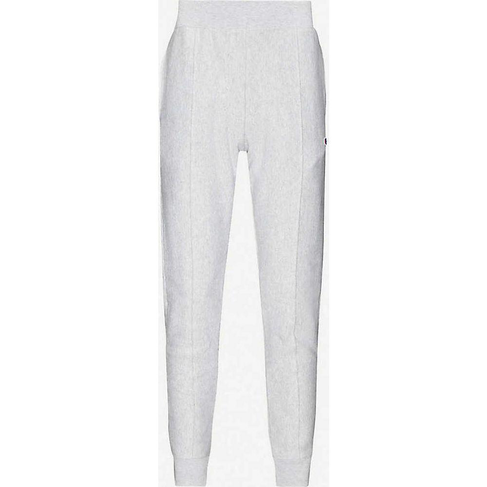 チャンピオン CHAMPION メンズ ボトムス・パンツ 【Logo-embroidered cotton-jersey jogging bottoms】Grey