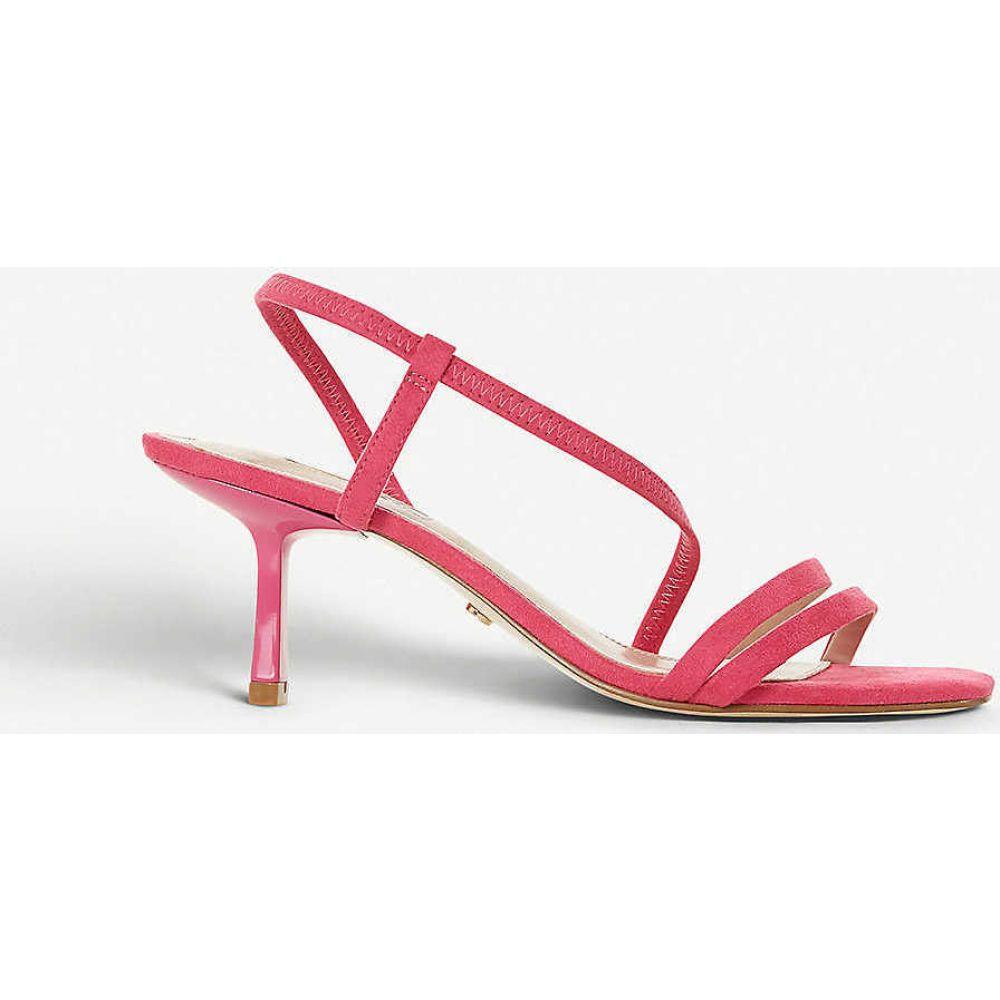 デューン DUNE レディース サンダル・ミュール オープントゥ シューズ・靴【Miso open-toe strappy sandals】PINK-SYNTHETIC