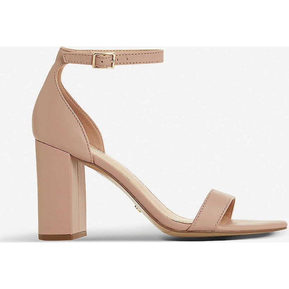 デューン DUNE レディース サンダル・ミュール シューズ・靴【Madam leather heeled sandals】BLUSH-LEATHER