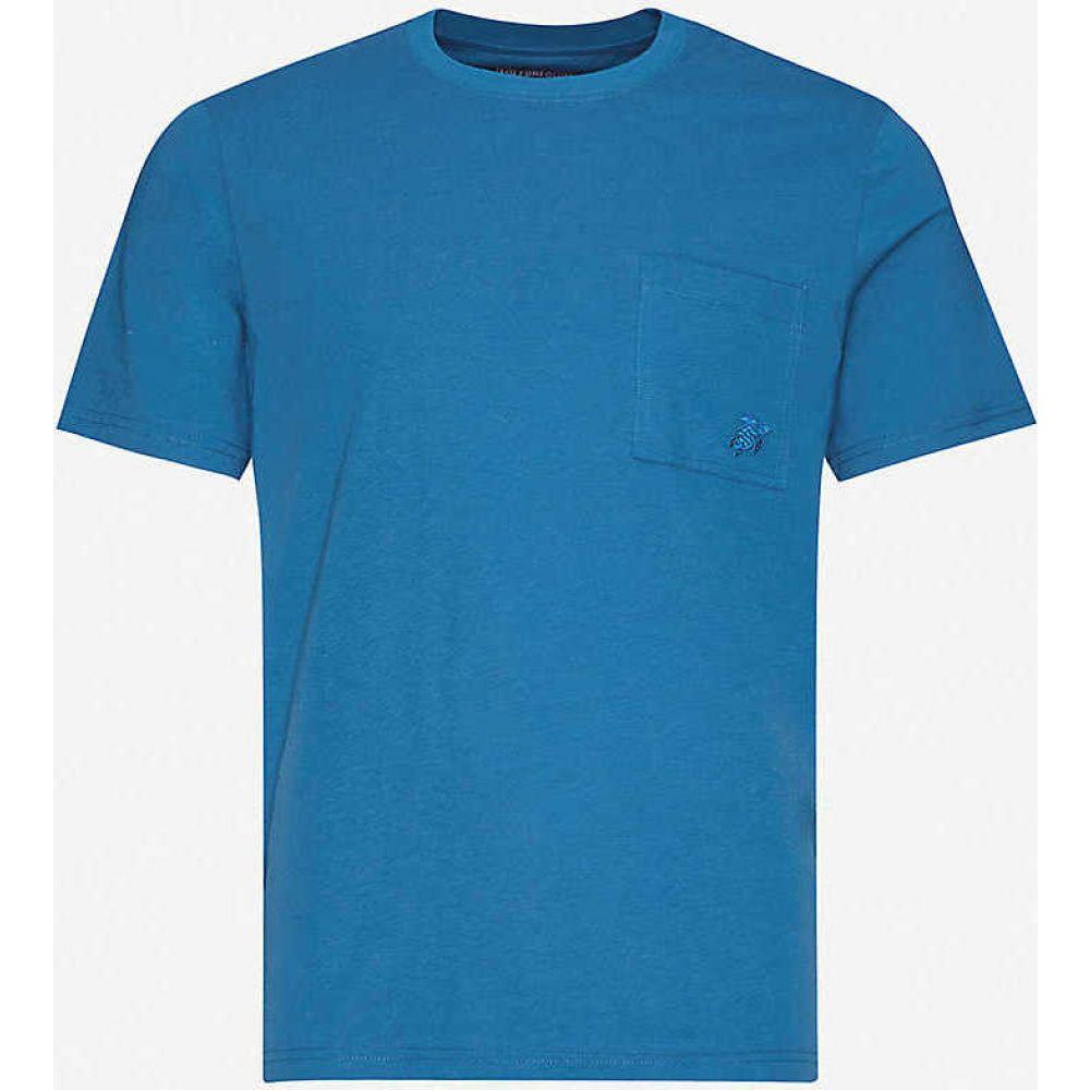 ヴィルブレクイン VILEBREQUIN メンズ Tシャツ トップス【Embroidered-logo cotton-jersey T-shirt】Goa