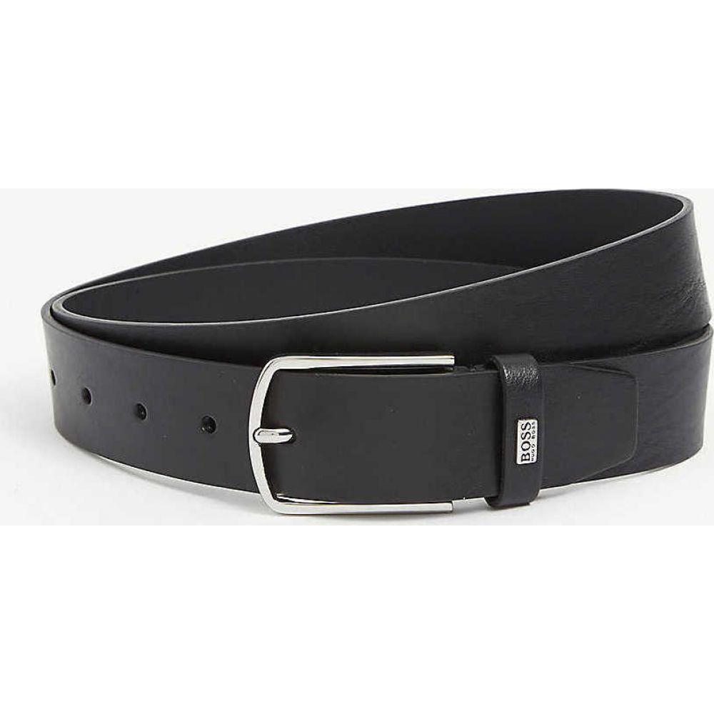 ヒューゴ ボス BOSS メンズ ベルト 【Jemy leather belt】BLACK