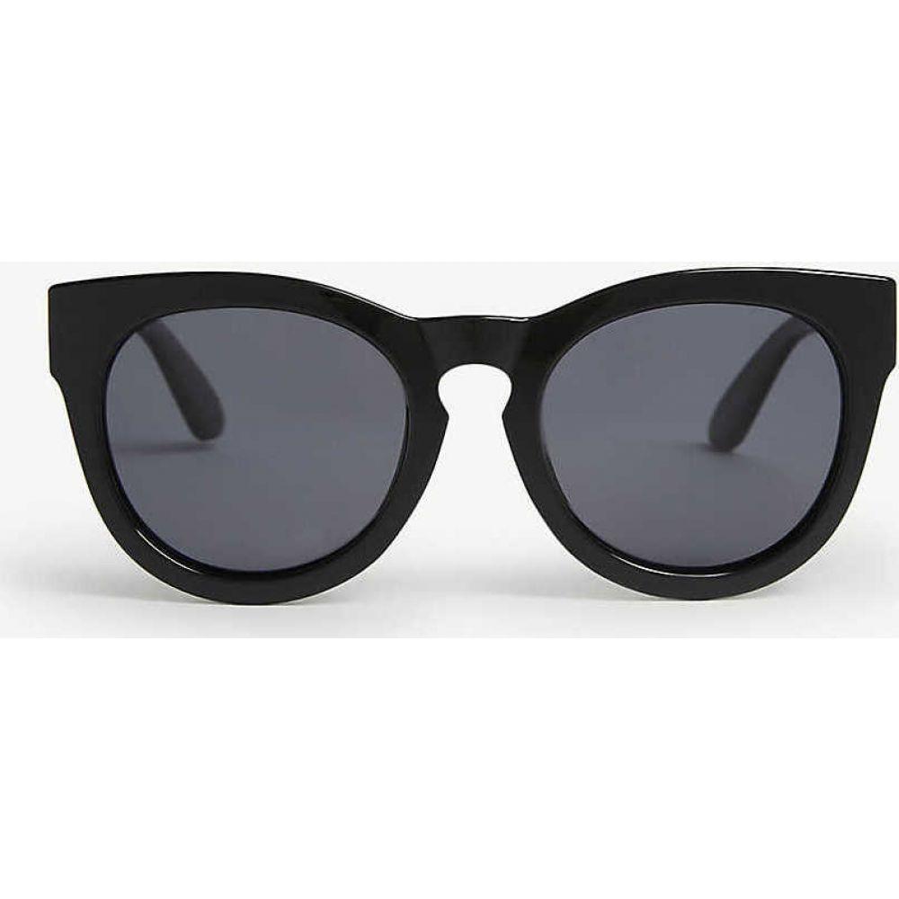 ル スペックス LE SPECS レディース メガネ・サングラス キャットアイ【Jealous Games cat-eye polarised sunglasses】B/smoke Mono Polarized