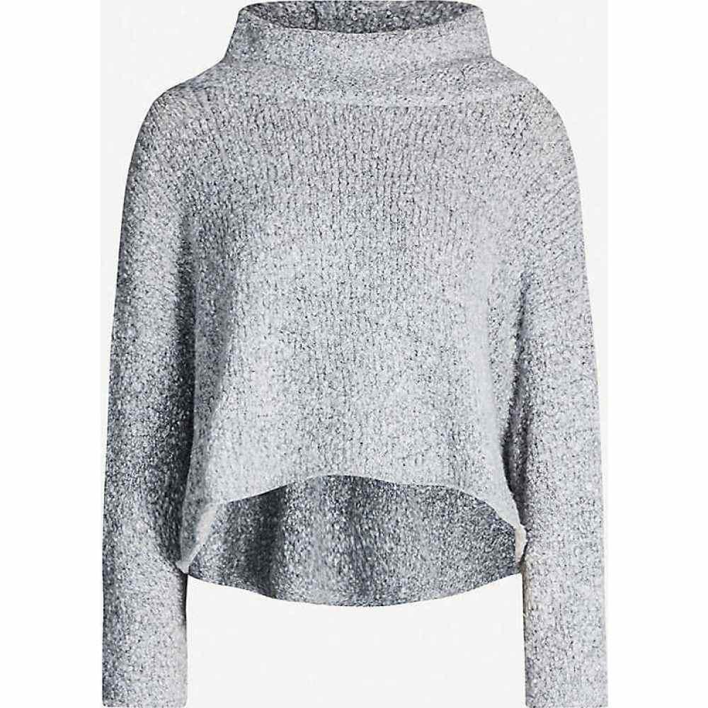 フリーピープル FREE PEOPLE レディース ニット・セーター トップス【BFF turtleneck knitted jumper】GREY