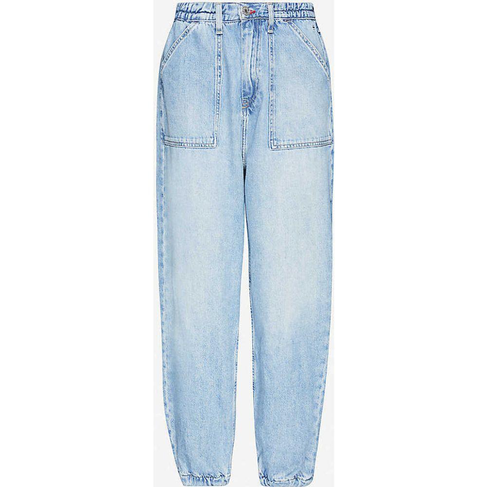 トミー ジーンズ TOMMY JEANS レディース ジーンズ・デニム ボトムス・パンツ【Elasticated wide-leg high-rise jeans】Carol Lt Bl Rig