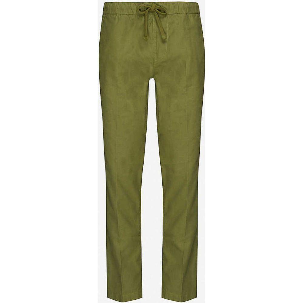 オベイ OBEY レディース ボトムス・パンツ 【Traveller mid-rise organic cotton jogging bottoms】ARMY