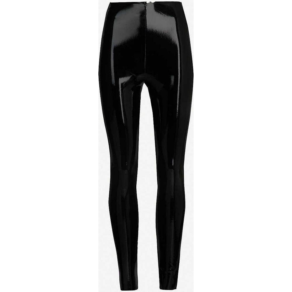 コマンドー COMMANDO レディース スパッツ・レギンス インナー・下着【Patent faux-leather leggings】BLACK