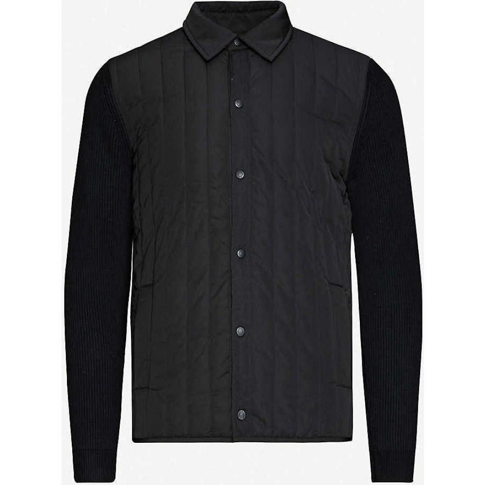 リース REISS メンズ ジャケット シェルジャケット アウター【Martinson shell jacket】BLACK