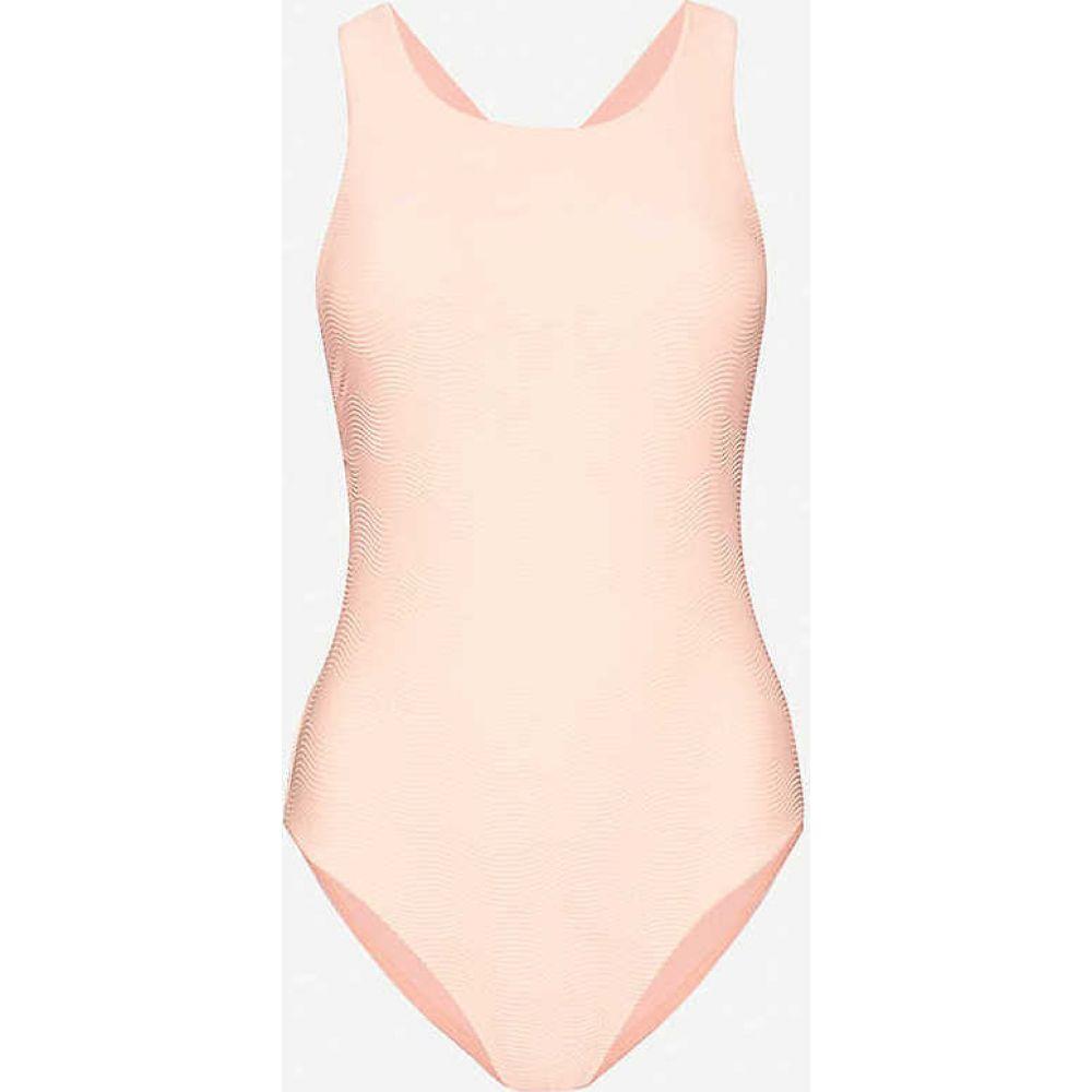 シーフォリー SEAFOLLY レディース ワンピース クロップド 水着・ビーチウェア【Capri high-neck swimsuit】Fluoromelon