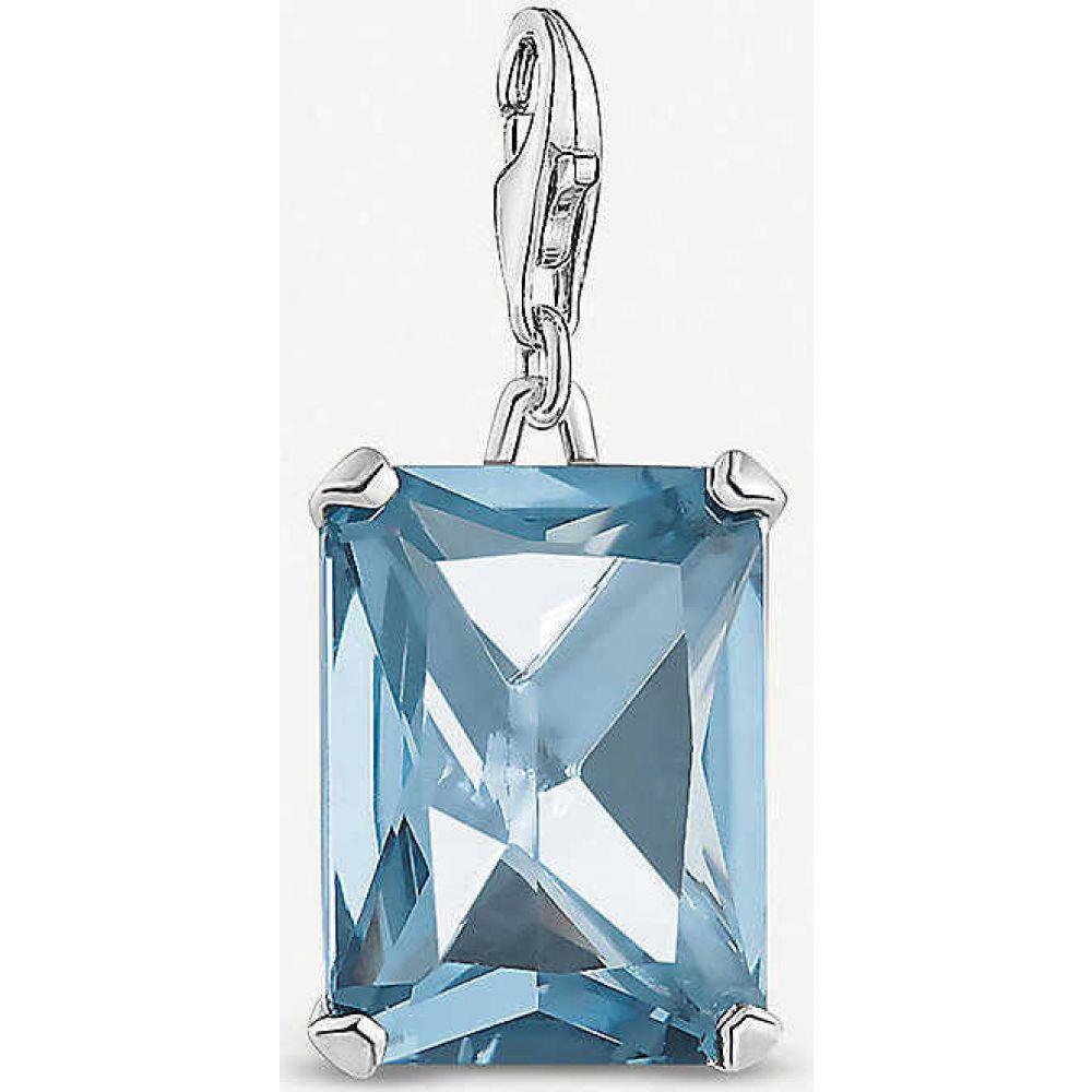 トーマスサボ THOMAS SABO レディース ジュエリー・アクセサリー チャーム【Magic Stones sterling silver charm】blue