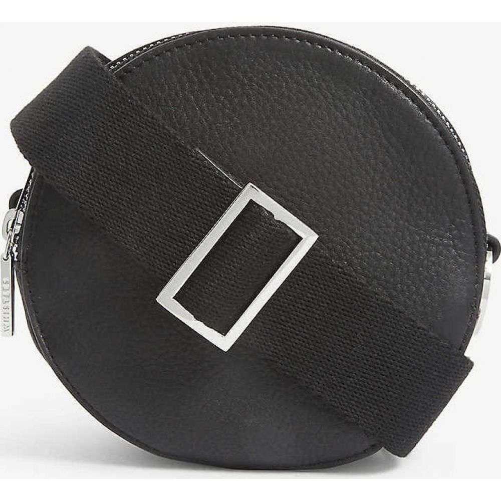 ホイッスルズ WHISTLES レディース ショルダーバッグ バッグ【Cole round crossbody bag】BLACK