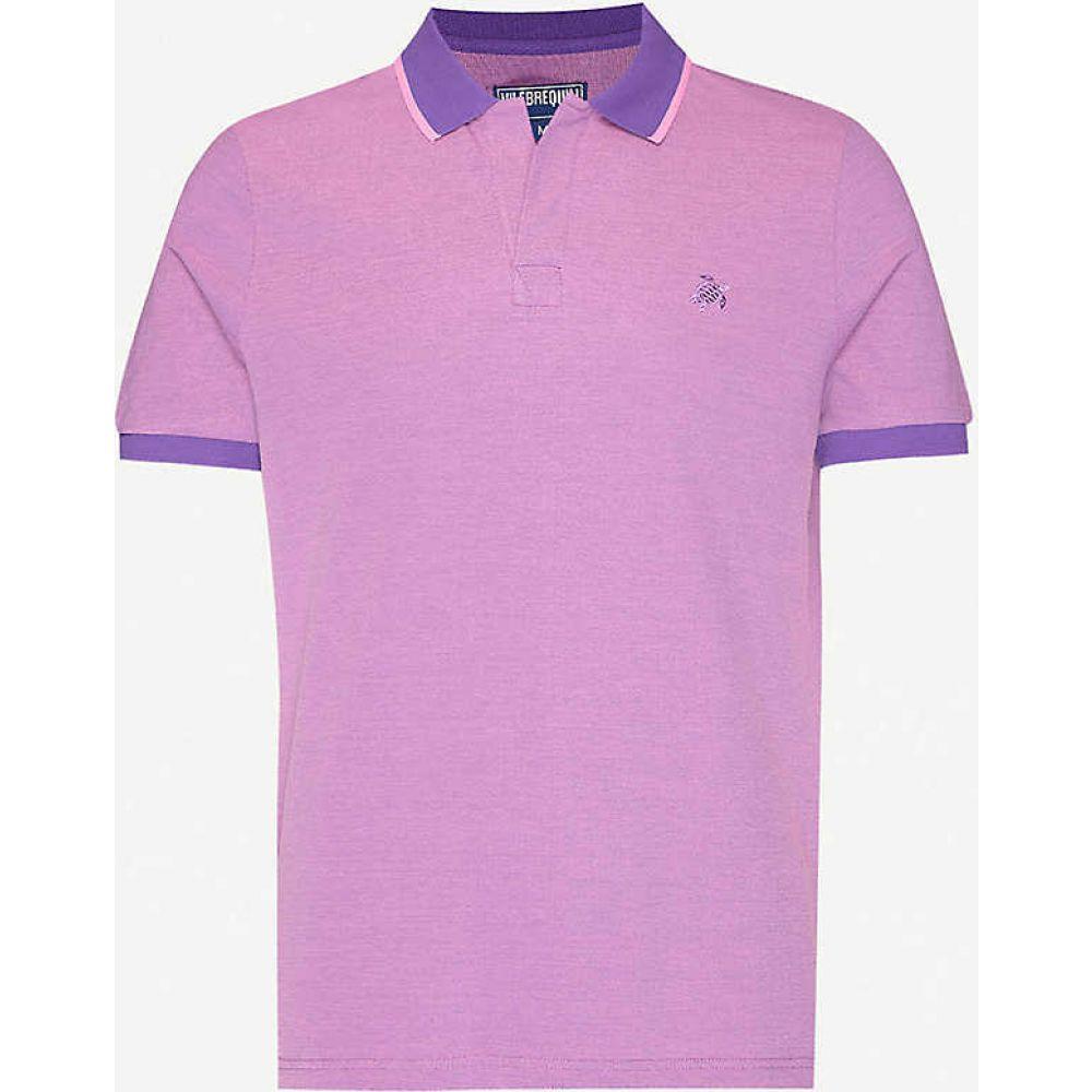 ヴィルブレクイン VILEBREQUIN メンズ ポロシャツ トップス【Embroidered-logo cotton polo shirt】Bengal