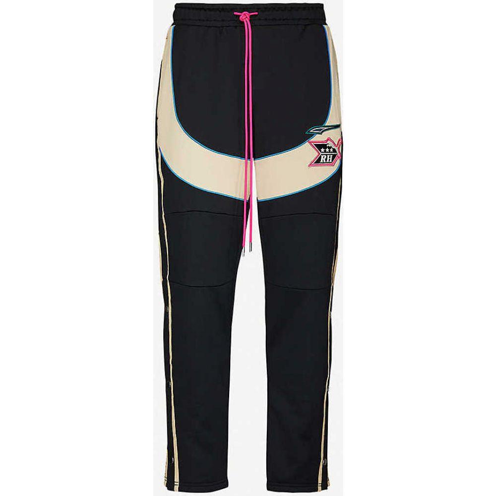プーマ PUMA メンズ ボトムス・パンツ 【Puma X RHUDE stretch-jersey jogging bottoms】Puma Black