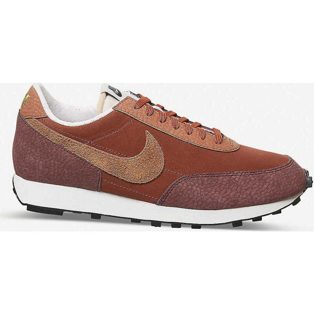 ナイキ NIKE メンズ スニーカー シューズ・靴【Daybreak mesh, suede and faux-leather trainers】PUEBLO BROWN RUGGED ORAN