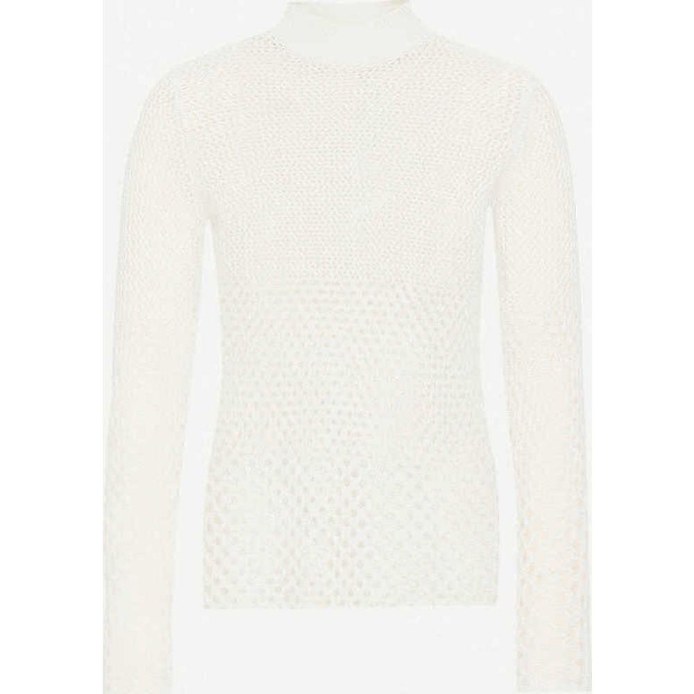 リース REISS レディース ニット・セーター トップス【Roni open knit textured jumper】NEUTRAL