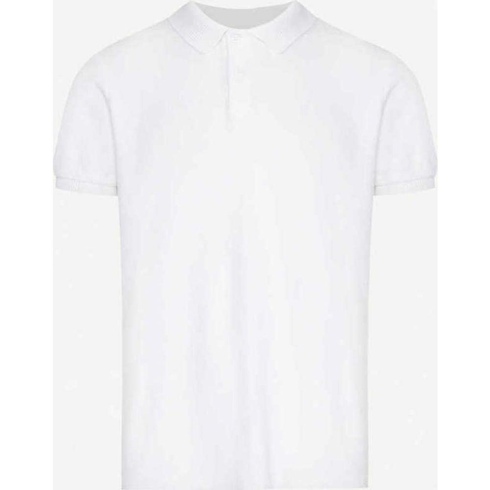 オールバー ブラウン ORLEBAR BROWN メンズ ポロシャツ トップス【Terry cotton-jersey polo shirt】White