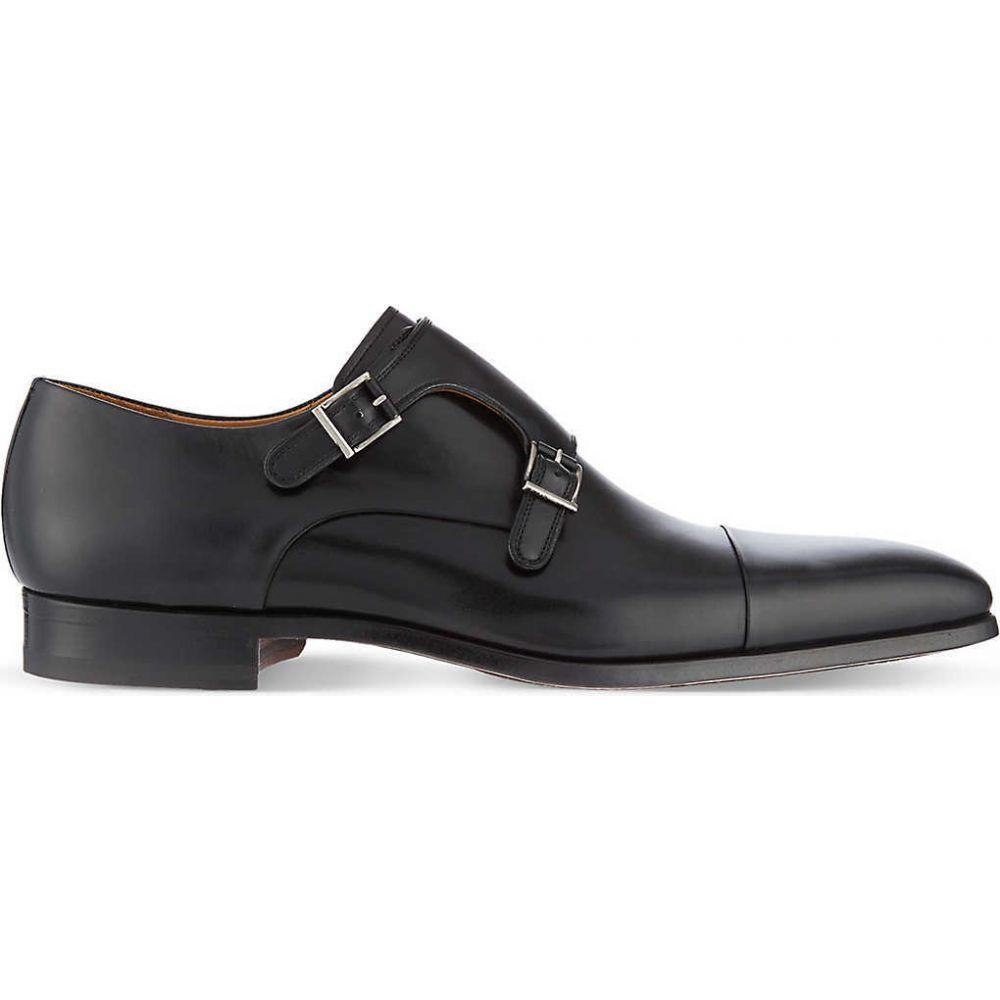 マグナーニ MAGNANNI メンズ 革靴・ビジネスシューズ シューズ・靴【Double monk shoes】BLACK