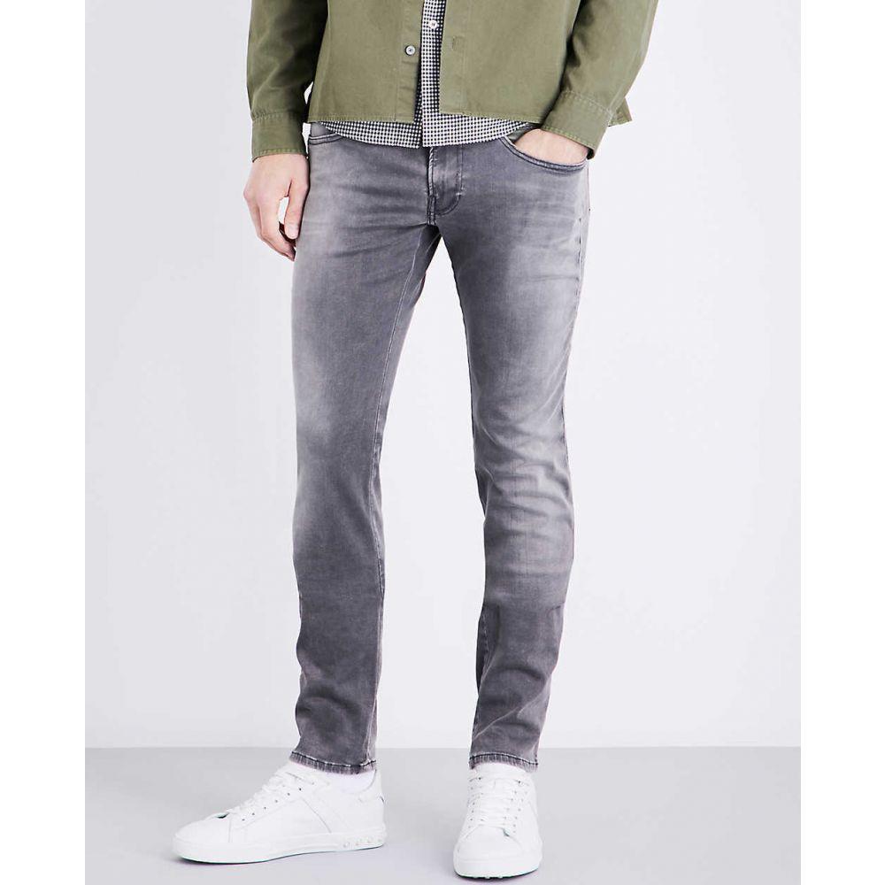 リプレイ REPLAY メンズ ジーンズ・デニム ボトムス・パンツ【Anbass hyperflex slim-fit skinny jeans】GREY