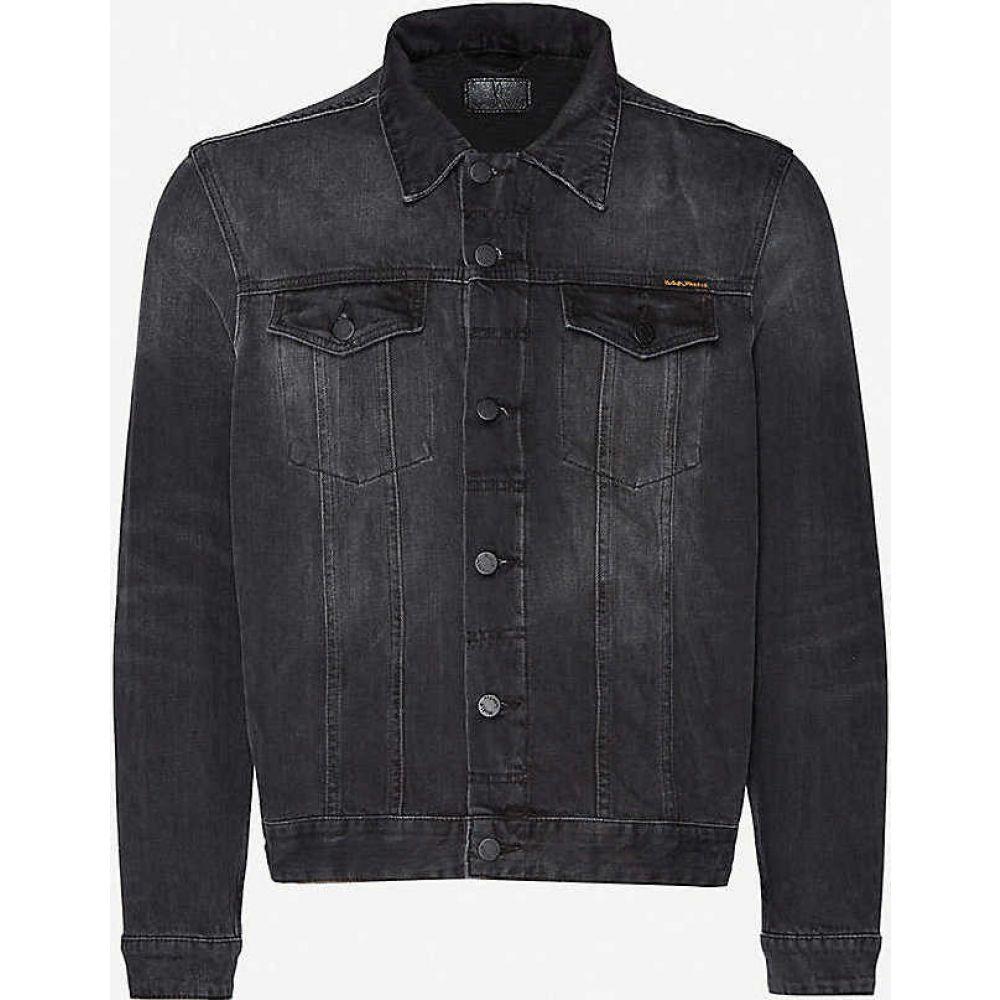 ヌーディージーンズ NUDIE JEANS メンズ ジャケット Gジャン アウター【Jerry denim jacket】BLACK