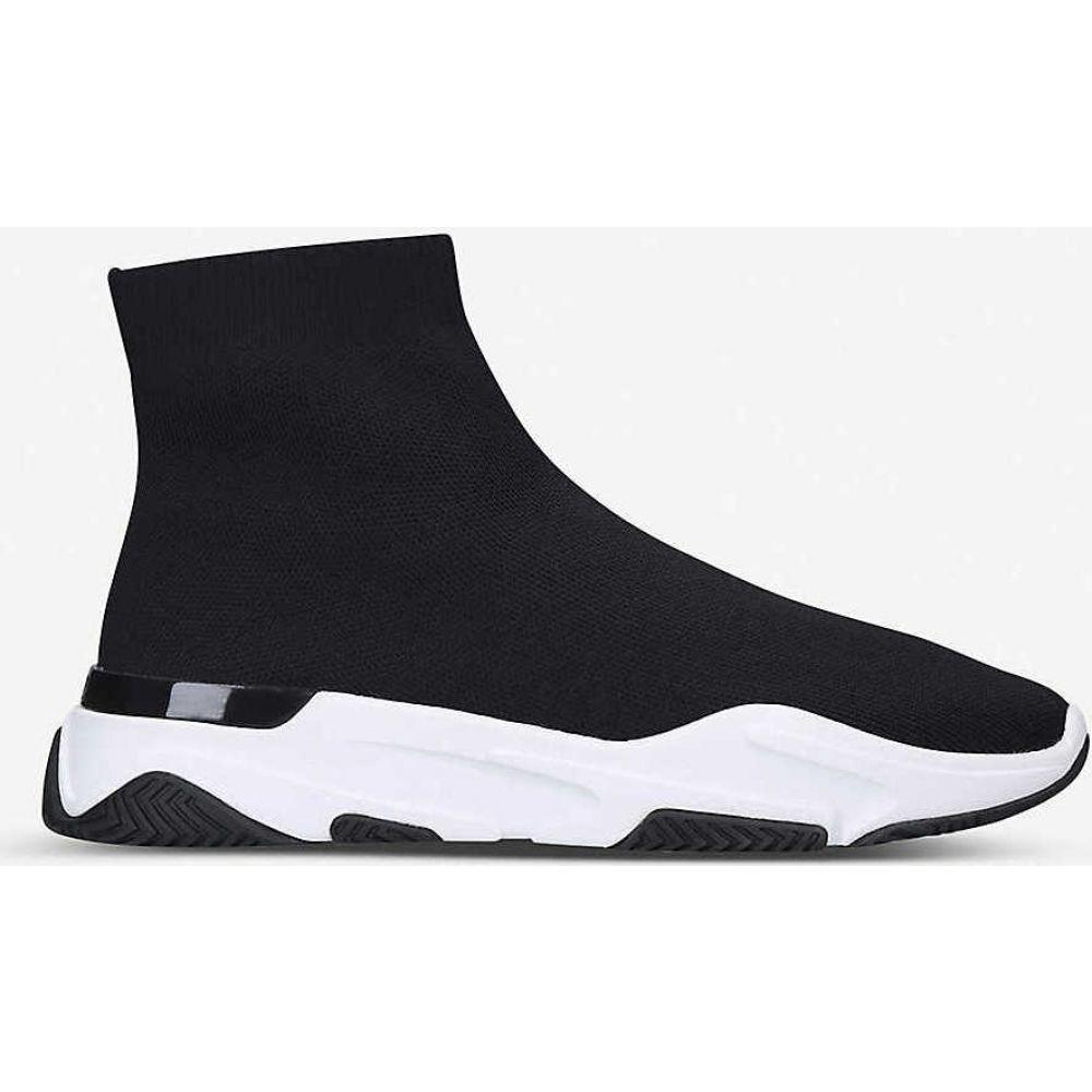 マレット MALLET メンズ ランニング・ウォーキング ソックス シューズ・靴【Sock Runner tonal stretch-knit mid-top trainers】BLK/WHITE