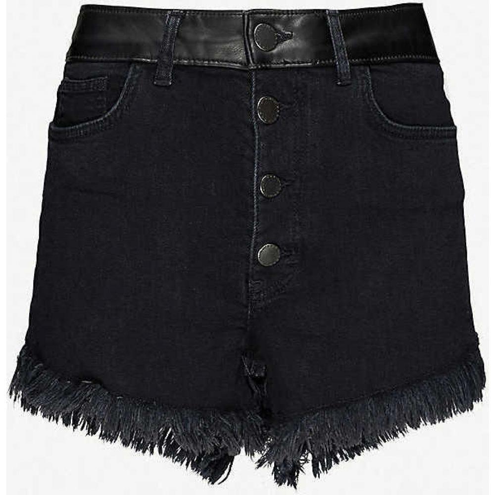 マージュ MAJE レディース ショートパンツ ボトムス・パンツ【Irino stretch-denim shorts】BLACK