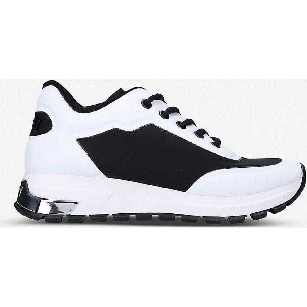 ダナ キャラン ニューヨーク DKNY レディース スニーカー チャンキーヒール シューズ・靴【Mak chunky woven trainers】BLK/WHITE