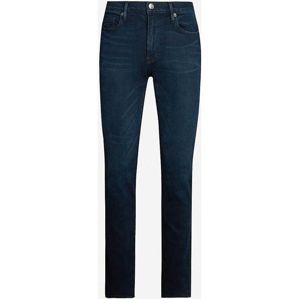 フレーム FRAME メンズ ジーンズ・デニム ボトムス・パンツ【L Homme faded skinny jeans】Placid