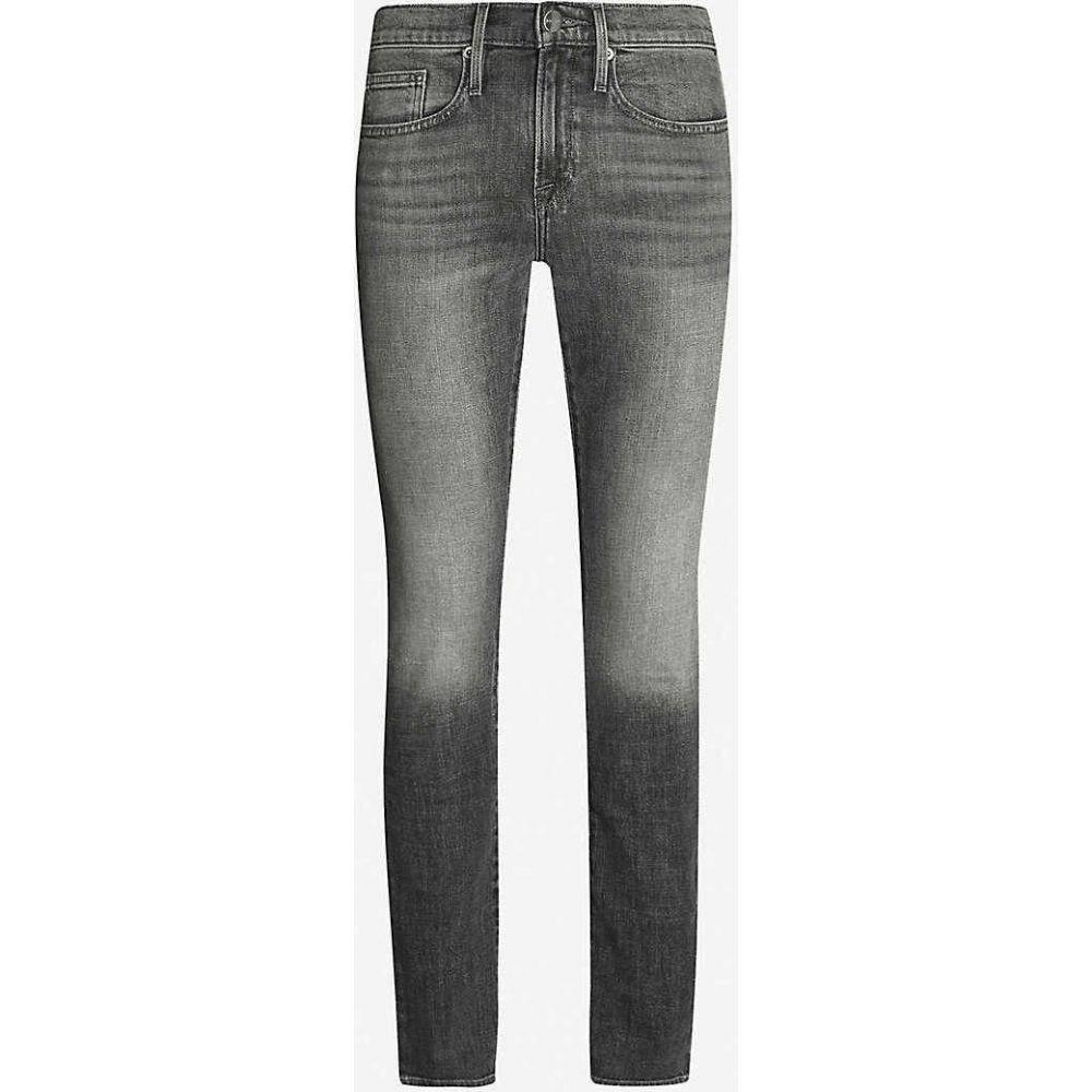 フレーム FRAME メンズ ジーンズ・デニム ボトムス・パンツ【L Homme slim-fit jeans】GREY