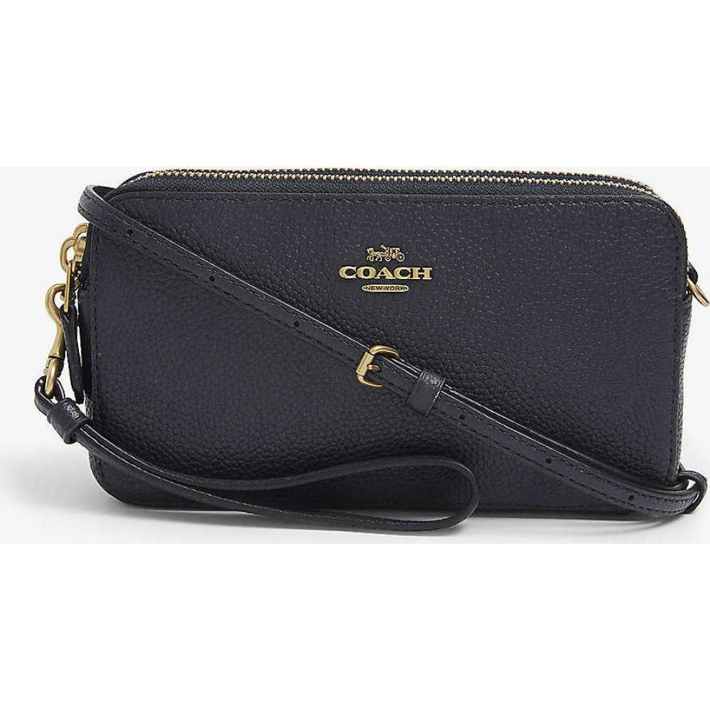 コーチ COACH レディース ショルダーバッグ バッグ【Kira grained leather cross-body bag】B/midnight Navy