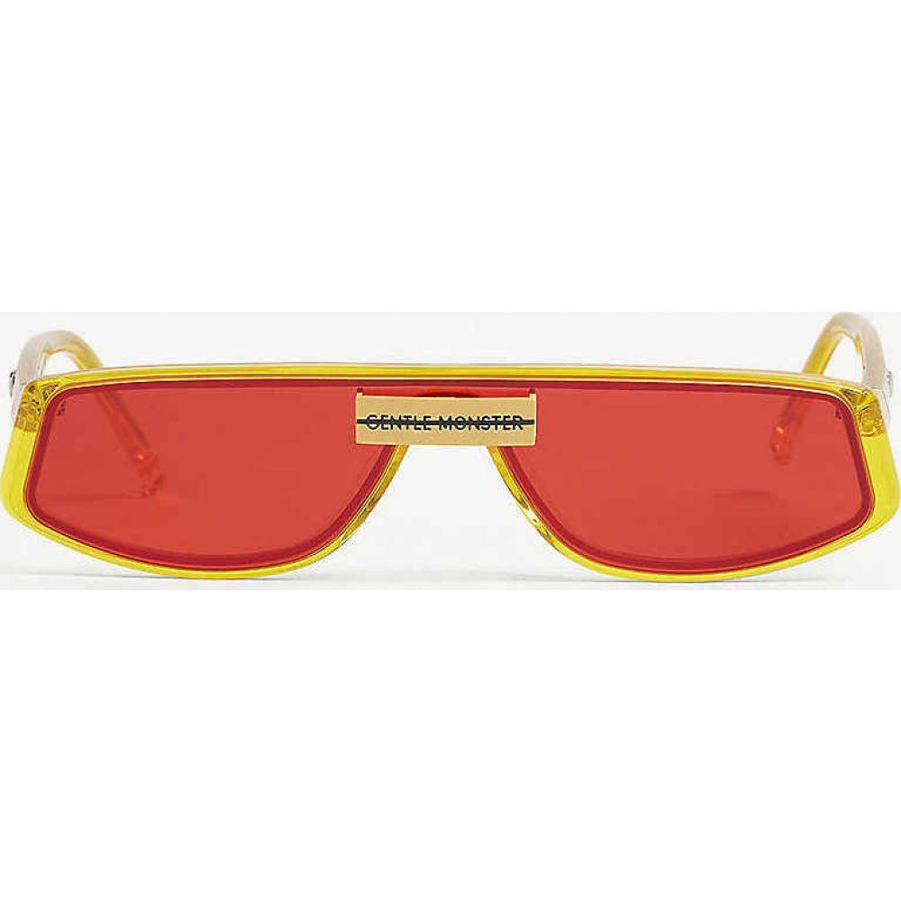 ジェントルモンスター GENTLE MONSTER レディース メガネ・サングラス 【Cold C1 rectangle-frame acetate sunglasses】CLEAR